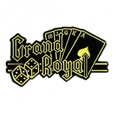 shop - Grand Royal | Enamel Pin