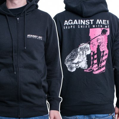 against-me - Shape Shift With Me | Zip-Hood