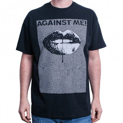 against-me - Wave Lips | T-Shirt