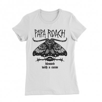 papa-roach - Blessed Curse | Fitted Girl T-Shirt