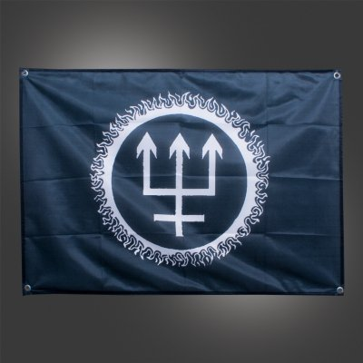 watain - Logo Trident | Flag