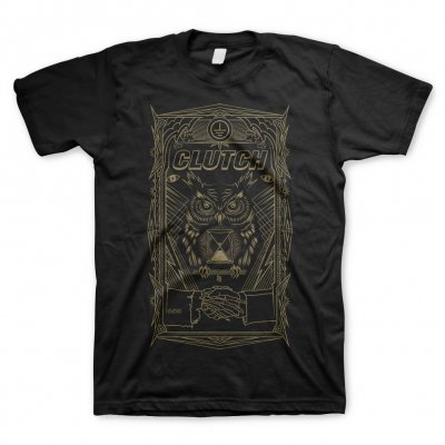 clutch - All Seeing Owl | T-Shirt