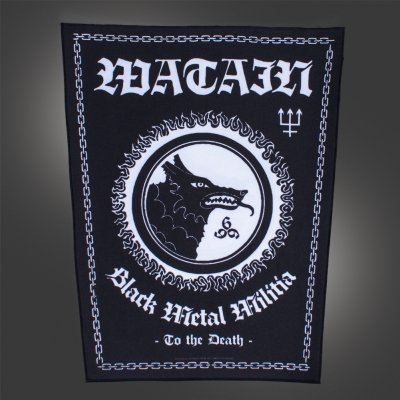watain - Black Metal Militia | Back Patch