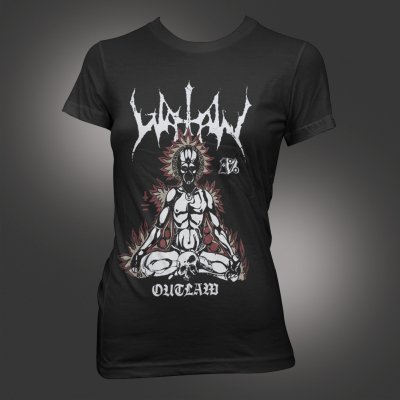 watain - Outlaw | Fitted Girl T-Shirt