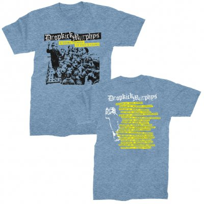 dropkick-murphys - Short Stories Blue Tour |T-Shirt