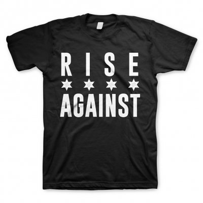 Rise Against - Chicago Flag White | T-Shirt