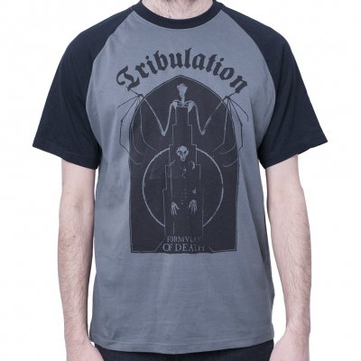 tribulation - Bat Grey | Baseball T-Shirt