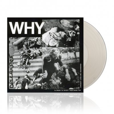 discharge - Why | Clear Vinyl