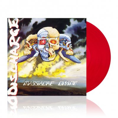 discharge - Massacre Divine | Red Vinyl
