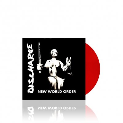 Discharge - New World Order | Red 7 Inch