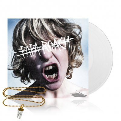 shop - Crooked Teeth | White Vinyl+Necklace Bundle