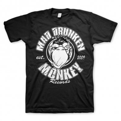 mad-drunken-monkey-records - Logo | T-Shirt