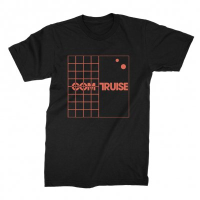 com-truise - Grid Black | T-Shirt