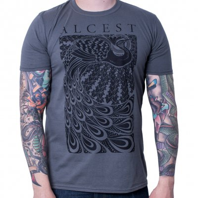 Peacock Grey | T-Shirt