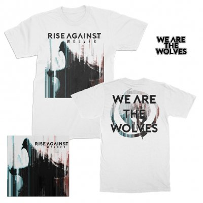 Rise Against - Wolves | CD+T-Shirt+Pin Bundle