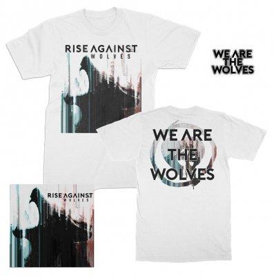 rise-against - Wolves | CD+T-Shirt+Pin Bundle