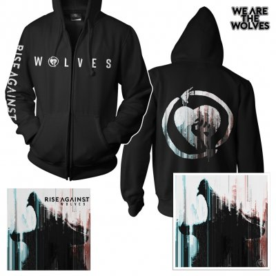 Rise Against - Wolves | CD+Zip-Hood+Pin