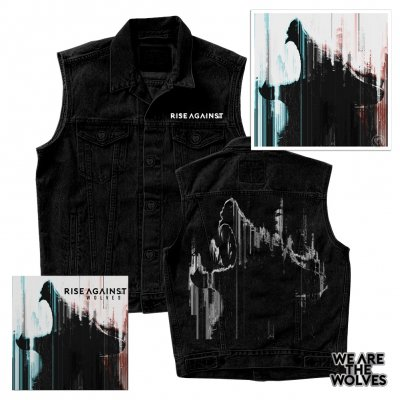 Rise Against - Wolves | CD+Vest+Signed Litho+Pin