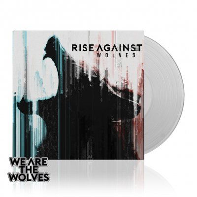 Rise Against - Wolves | Clear Vinyl+Enamel Pin