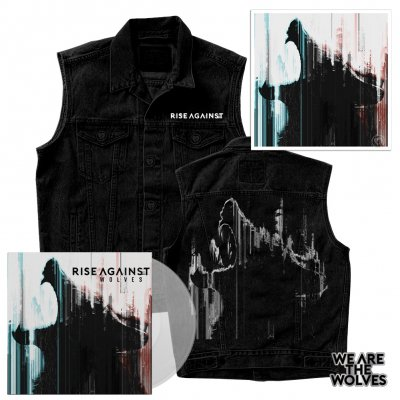 rise-against - Wolves | Clear LP+Vest+Signed Litho+Pin