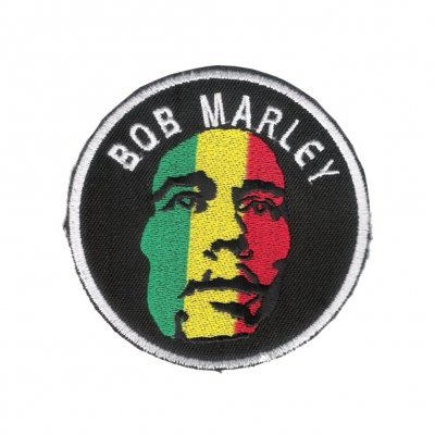 Bob Marley - Face Round | Patch