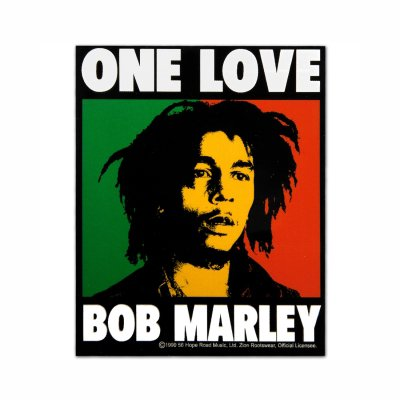 Bob Marley - One Love | Sticker