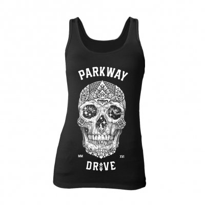 shop - Skull | Girl Tank Top