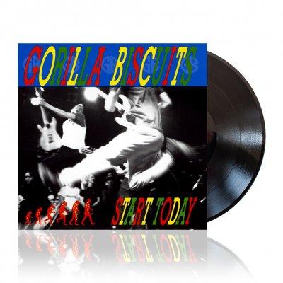 gorilla-biscuits - Start Today   Black Vinyl