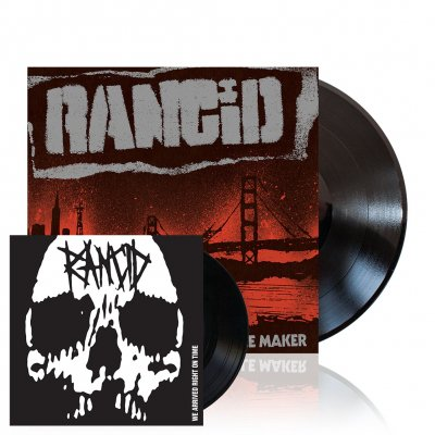 Rancid - Trouble Maker | Black Vinyl+7Inch