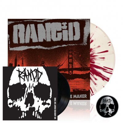 "Rancid - Trouble Maker | Colored Vinyl+7""+Pin"