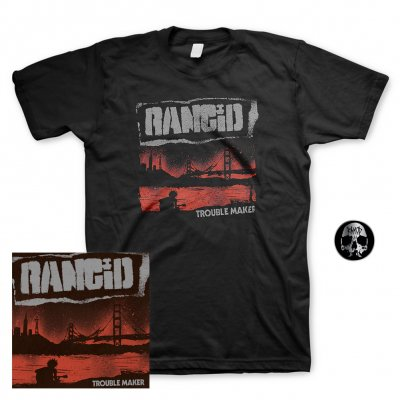 Rancid - Trouble Maker | CD+Pin+Shirt