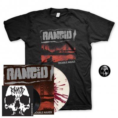 "Rancid - Trouble Maker   Colored Vinyl+7""+Pin+Shirt"