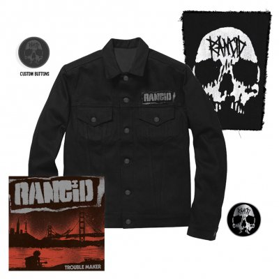 Rancid - Trouble Maker | CD+Pin+Jacket