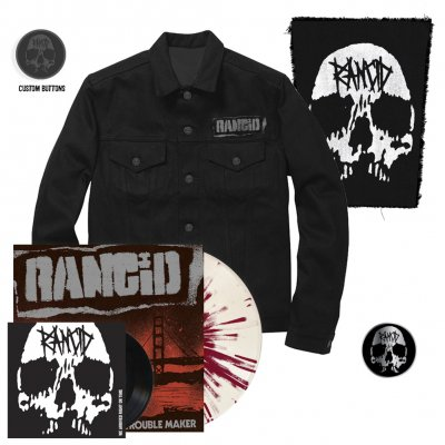 "Rancid - Trouble Maker | Colored Vinyl+7""+Pin+Jacket"