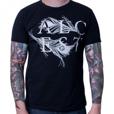 alcest - Feather Black | T-Shirt