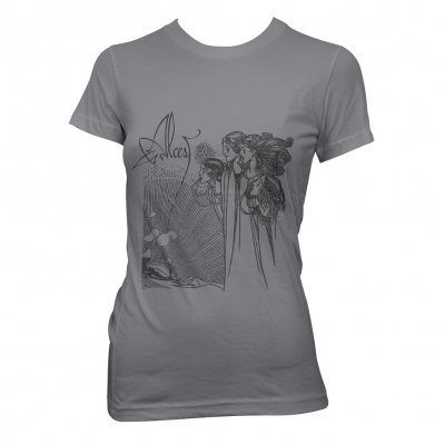 alcest - Art Nouveau | Fitted Girl T-Shirt