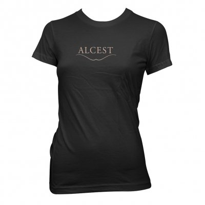 alcest - Golden Logo | Fitted Girl T-Shirt
