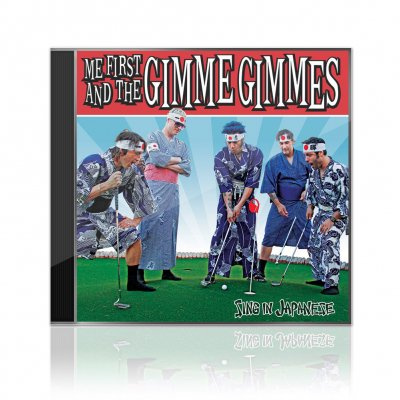 Me First And The Gimme Gimmes - Sing In Japanese | CD EP