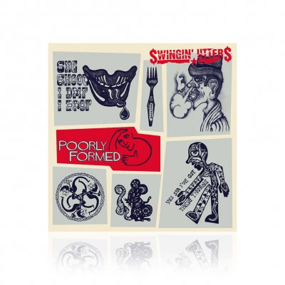 Swingin Utters - Poorly Formed | CD