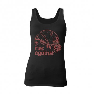 rise-against - Rose | Girl Tank Top