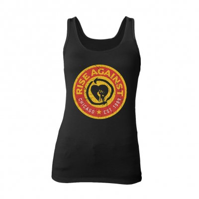 Rise Against - Circle Label | Girl Tank Top