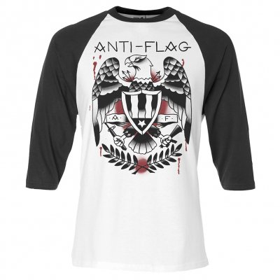anti-flag - Tattoo Eagle | 3/4 Baseball Longsleeve