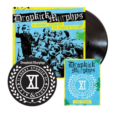 shop - 11 Short Stories Of Pain And Glory | Deluxe Black Vinyl
