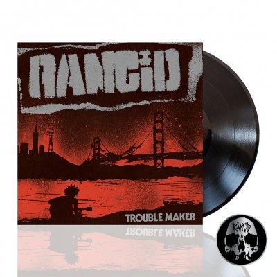 rancid - Trouble Maker | Black Vinyl+Pin