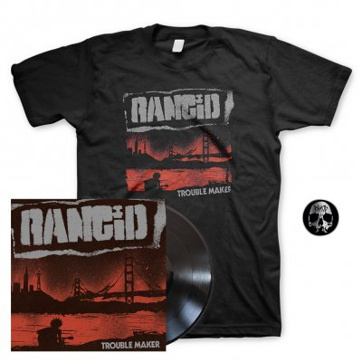Rancid - Trouble Maker | Black Vinyl+Pin+Shirt