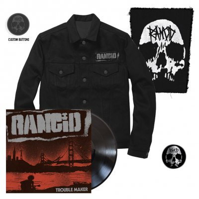 Rancid - Trouble Maker | Black Vinyl+Pin+Jacket