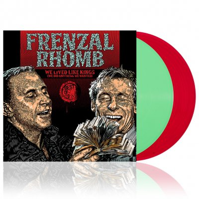Frenzal Rhomb - We Lived Like Kings | Green & Red Vinyl