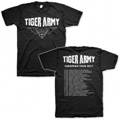 Tiger Army - Tiger Bat Tour 2017 | T-Shirt