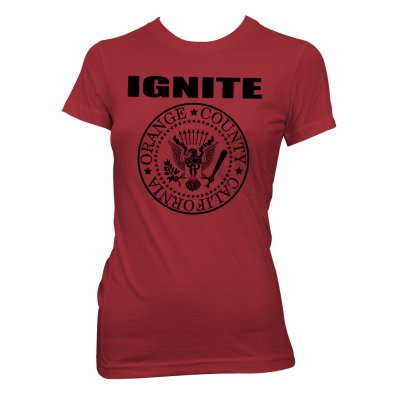 ignite - President Red | Fitted Girl T-Shirt
