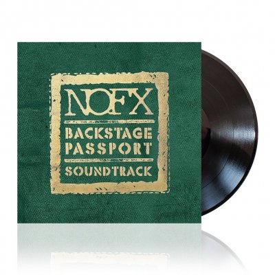 Backstage Passport Soundtrack | Black Vinyl